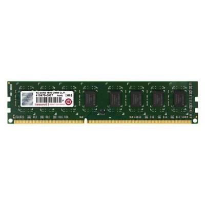 DIMM DDR3 4GB 1600MHz TRANSCEND JetRam™, 256Mx8 CL11