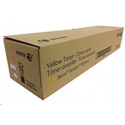 Xerox Yellow toner pro Versant 80