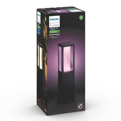 PHILIPS Impress Venkovní stojan, White and Color Ambience, 24V, 8W integr.LED, Antracit, rozšíření