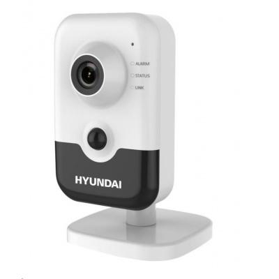 HYUNDAI IP kamera 2Mpix, H.265+, 25 sn/s, obj. 2,8mm (110°),PoE,audio,DI/DO,IR 10m, IR-cut,Wi-Fi, WDR 120dB, mSD, analyt