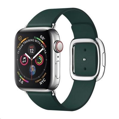 COTEetCI kožený magnetický řemínek Nobleman pro Apple Watch 38 / 40mm zelená