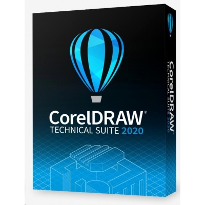 CorelDRAW Technical Suite 2020 Enterprise Upgrade License (51-250) - EN/DE/FR