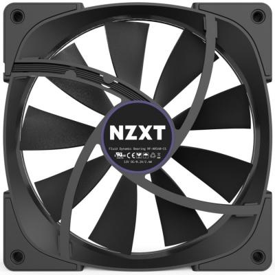 NZXT ventilátor Aer RGB Series / RF-AR140-C1 / 140 mm / 22 – 33 dBA / 4-pin / set: 2x FAN + řídící panel HUE+