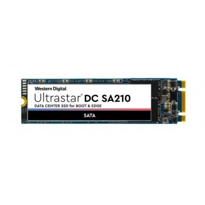 Western Digital Ultrastar® SSD 960GB (HBS3A1996A4M4B1) DC SA210 M.2-2280 7.0MM SATA TLC RI BICS3 TCG, DW/D R 0.1/S 0.7