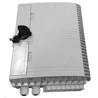 Optický plastový box LEXI-Net pro 16 vláken SC(E2000, LC duplex), 2 vstupy, IP65