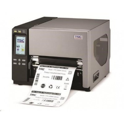 TSC TTP-384MT Priemyselná tlačiareň čiarových kódov, 300dpi, šírka tlače 8 inch
