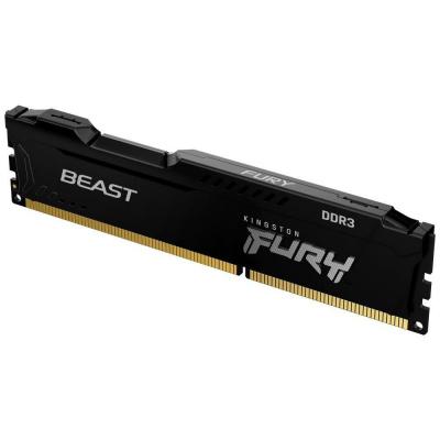 KINGSTON FURYBeast 8GB 1600MHz DDR3 CL10 DIMM Black