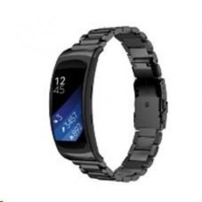 eses kovový řemínek černý pro Samsung Gear Fit 2