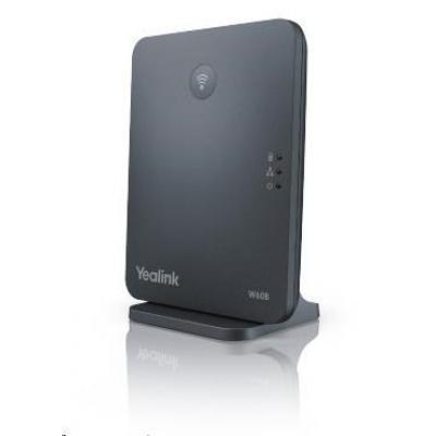 Yealink W60B IP DECT báze, 1x10/100, PoE, 8x SIP, až 8 ruček