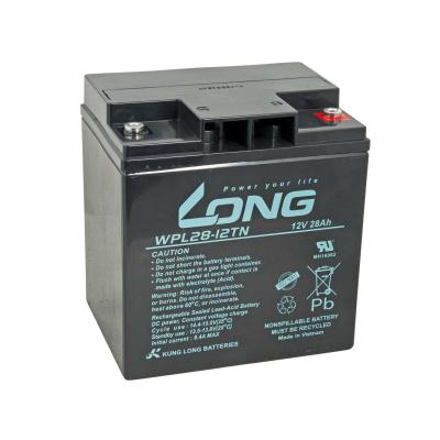 LONG baterie 12V 28Ah M5 LongLife 12 let (WPL28-12TN)