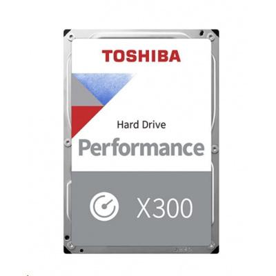 "TOSHIBA HDD X300 6TB, SATA III, 7200 rpm, 256MB cache, 3,5"", RETAIL"