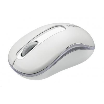RAPOO myš M10 Plus 2.4G Wireless Optical Mouse, White