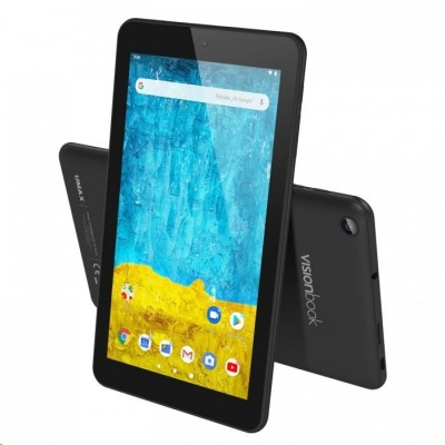 """UMAX Tablet VisionBook 7A Plus - IPS 7"""" 1024x600, Rockchip RK3326@1.5GHz, 2GB, 16GB, Mali-G31, microUSB, Android 9.0"""