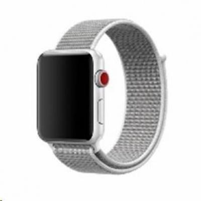 eses nylonový řemínek 42mm stříbrný pro apple watch