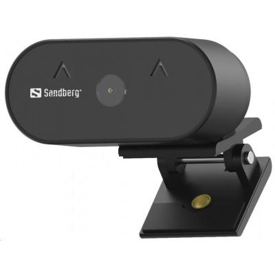 Sandberg USB kamera Webcam Wide Angle 1080P
