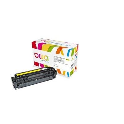 OWA Armor toner pro HP Color Laserjet Pro300 M351, M375, Pro400 M451, M475, 2600 Stran, CE412A, žlutá/yellow