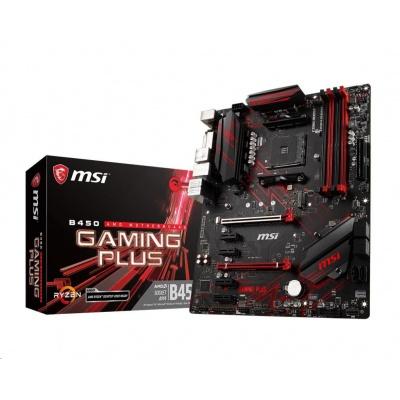 MSI MB Sc AM4 B450 GAMING PLUS MAX, AMD B450, VGA, 4xDDR4