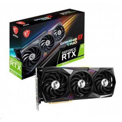 MSI VGA NVIDIA GeForce RTX 3070 Ti GAMING X TRIO 8G, RTX 3070 Ti, 8GB GDDR6X, 3xDP, 1xHDMI