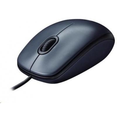 Logitech Mouse M100, grey