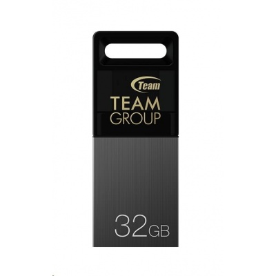 TEAM Flash Disk 32GB M151, Dual USB 2.0 & Micro USB, OTG, šedá