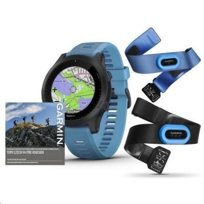 Garmin GPS sportovní hodinky Forerunner 945 PRO Tri Bundle