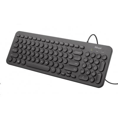 TRUST Klávesnice Muto Silent Keyboard