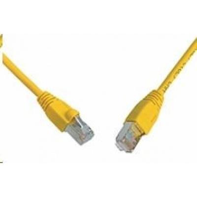 Solarix Patch kabel CAT5E SFTP PVC 5m žlutý snag-proof C5E-315YE-5MB