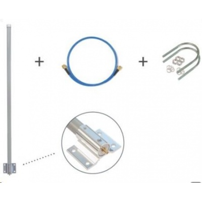 MikroTik TOF-0809-7V-S1 - LoRa Omni Antenna Kit 6.5dBi 824-960MHz SMA samice konektor