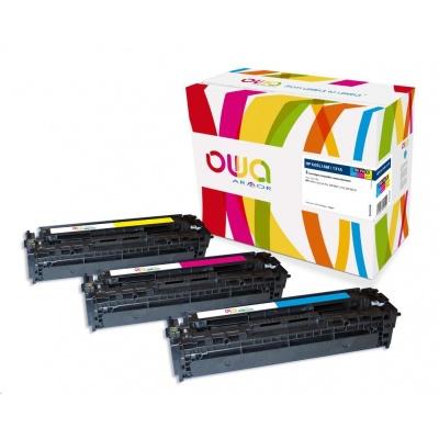 OWA Armor toner pro HP Color LJ Pro200 M251, M276, 3x1800 stran, U0SL1AM, barevná/C+M+Y