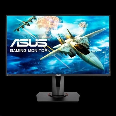 "ASUS LCD 27"" VG278Q  FHD 1980x1080, DVI HDMI DP eSport Gaming monitor, 1ms, up to 144Hz, FreeSync, Low Bl"