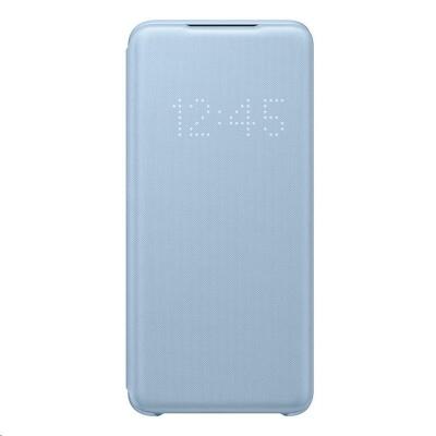 Samsung pouzdro LED S-View EF-NG980PLE pro Galaxy S20, modrá