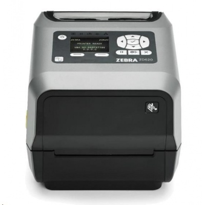 "Zebra TT tiskárna etiket ZD620t 4"" LCD 203 dpi, USB, USB Host, BTLE, RS232, LAN, řezačka"