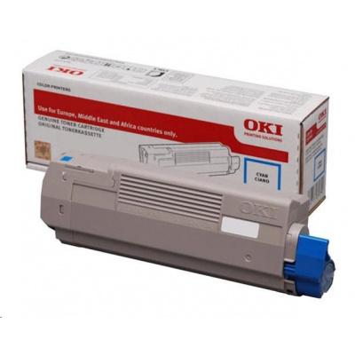 OKI Cyan toner do C532/C542 a MC563/MC573 (1 500 stránek)