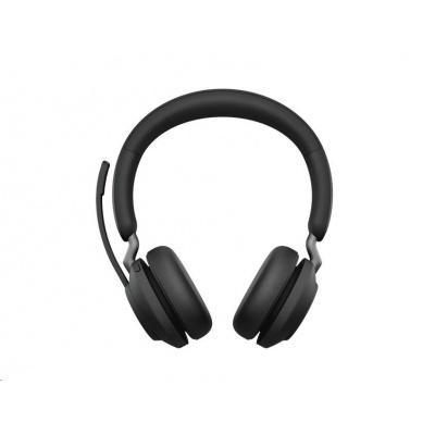 Jabra náhlavní souprava Evolve2 65, Link 380c MS, stereo, černá