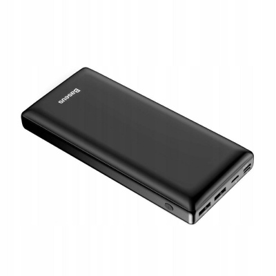 Baseus Mini JA rychlá powerbanka 3A 30000mAh, černá