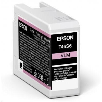 EPSON ink Singlepack Vivid Light Magenta T46S6 UltraChrome Pro 10 ink 25ml