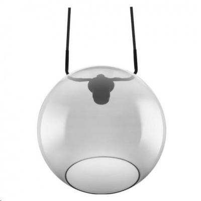 LEDVANCE VINTAGE 1906 GLOBE PENDANT 300X1280 Glass, Smoke Grey
