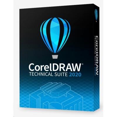 CorelDRAW Technical Suite 2020 Education License (251+) EN/DE/FR