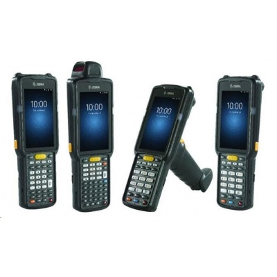 Zebra Terminál MC3300 WLAN, GUN, 2D Long Range, 47 KEY, 2X, ADR, 4/16GB, SNSR, NFC, ROW, Android