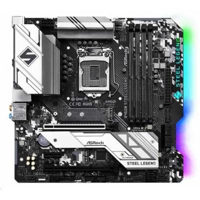 ASRock MB Sc LGA1200 B460M Steel Legend ,Intel B460, 4xDDR4, HDMI, DP