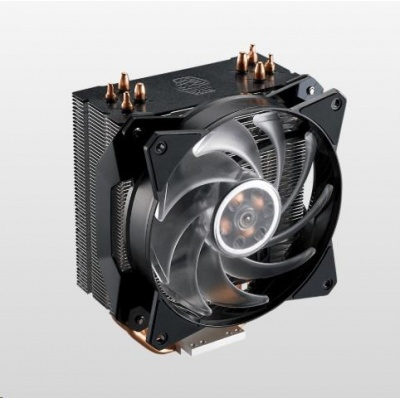 Cooler Master chladič MasterAir MA410P, 120mm, 4 Heat Pipes, RGB
