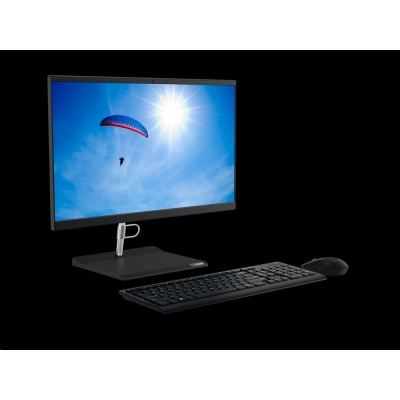 "LENOVO PC V50a 24IMB AIO i3-10100T 8GB 23.8"" FHD 256GB SSD UHD Graphics 630 DVD Rambo W10H 3y-onsite"