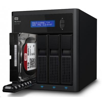 """WD My CLOUD EX 4100, 40 TB (4x10TB) 3,5"""", RJ45, NAS"""