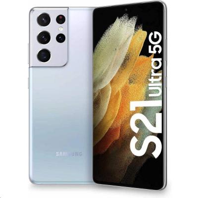 Samsung Galaxy S21 Ultra (G998), 256 GB, 5G, DS, EU, Silver
