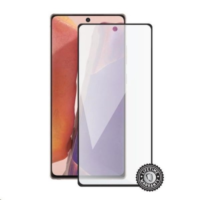 Screenshield ochrana displeje Tempered Glass pro SAMSUNG Galaxy Note 20 (N980), (full cover), černá