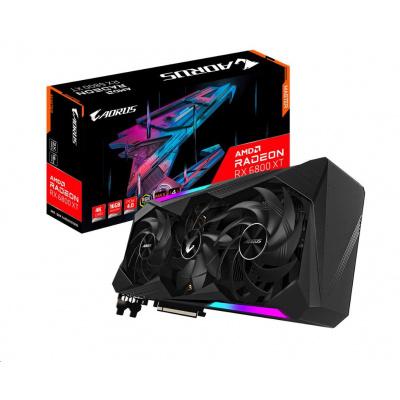 GIGABYTE VGA AMD Radeon RX 6800 XT AORUS MASTER 16G, RX 6800 XT, 16GB GDDR6, 2xDP, 2xHDMI