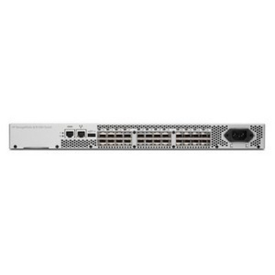 HP 8/8 (8) Full Fabric Ports Enabled SAN Switch AM867C RENEW