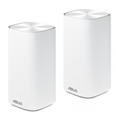 ASUS ZenWifi CD6 Wireless AC1500 Dual-band Whole-Home Mesh WiFi System, 2-pack