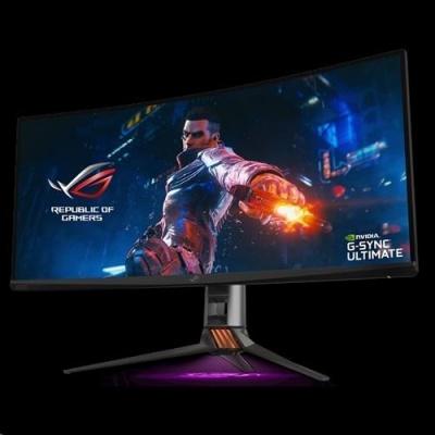 "ASUS LCD 35"" PG35VQ 3440x1440 ROG SWIFT Gaming 200Hz G-SYNC Ultimate Local dimm. Q.Dot 90% DCI-P3 DP1.4 HDMI USB3.0"