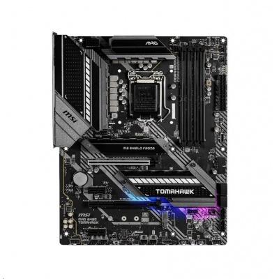 MSI MB Sc LGA1200 MAG B460 TOMAHAWK, Intel B460, 4xDDR4, VGA